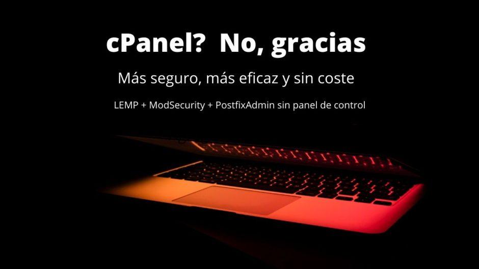 cPanel? No gracias